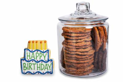 Birthday Cookie Jar