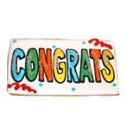 Select Congratulations Sugar Cookie