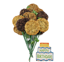 Happy Birthday Bouquet (15 cookies and up)