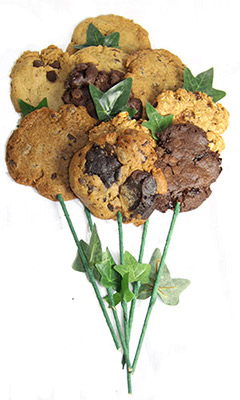 Vegan Long Stem Cookie Bouquet