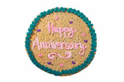 Enlarge Photo Of Anniversary Cookie Gram