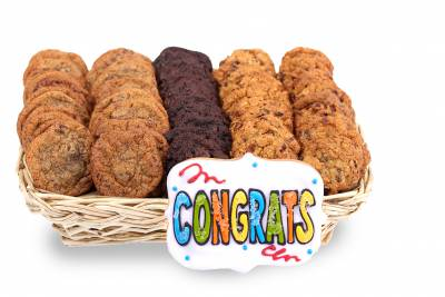 Enlarge photo of Congratulations Mini Basket