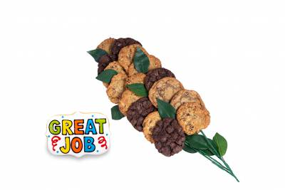 Enlarge photo of Great Job Bouquet (15 cookies and up)