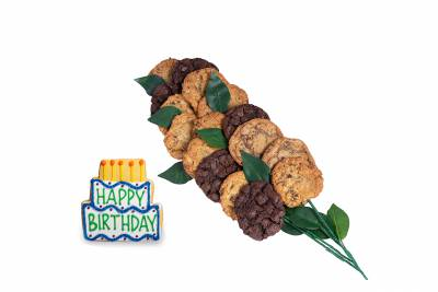 Enlarge photo of Happy Birthday Bouquet (15 cookies and up)