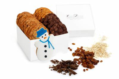 Enlarge photo of Snowman Gift Box