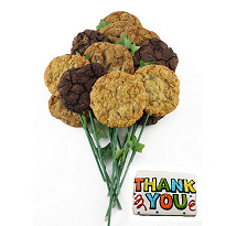 Sparkly Thanks Bouquet (15 cookies and up)